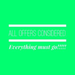 Other - All offers considered. Bundle and save!!